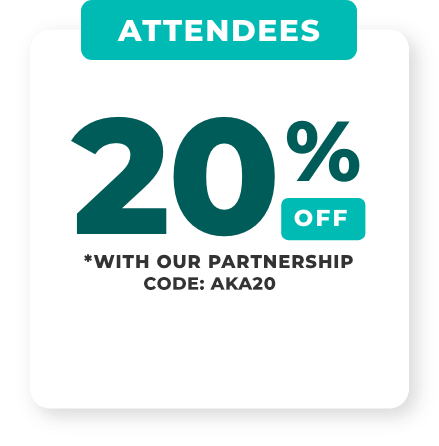 Get 20% off with our partnership code: AKA20. Get your tickets to attend USA CBD Expo.