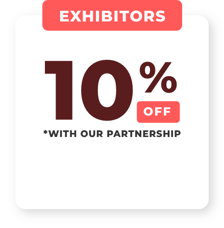 Get 10% off with our partnership when booking your booth with USA CBD Expo.